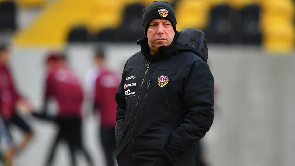 Markus Kauczinski ist neuer Trainer von Dynamo Dresden.