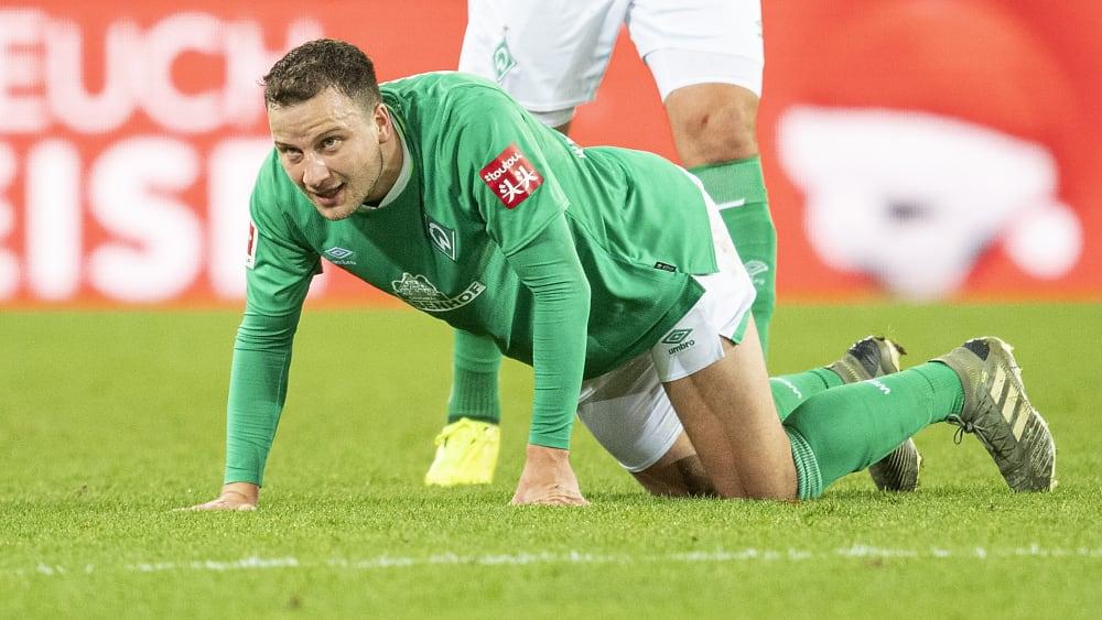Philipp Bargfrede fehlt Werder Bremen mindestens in den ersten beiden Rückrundenpartien.