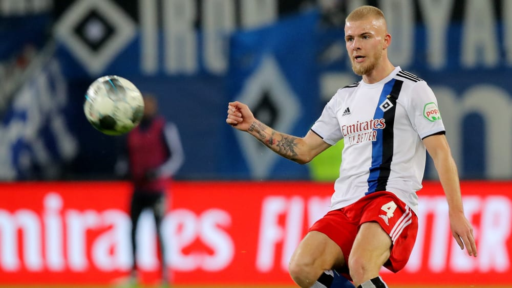 Rick van Drongelen muss beim Hamburger SV um seinen Platz kämpfen.
