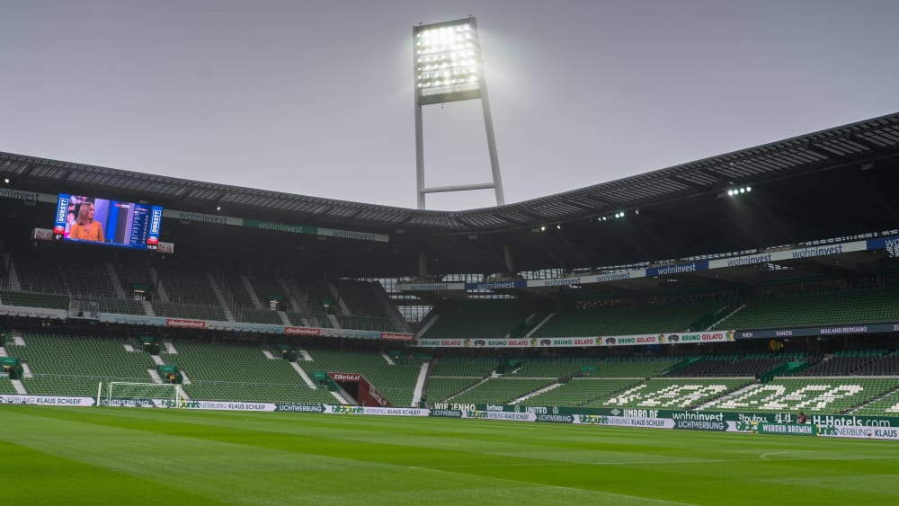 Das Wohninvest Weserstadion ist die Heimstätte von Werder Bremen.
