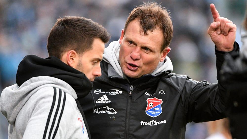 Claus Schromm, Trainer der SpVgg Unterhaching