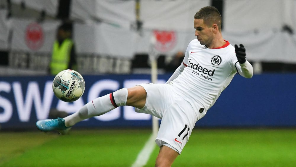 Mijat Gacinovic will mit Eintracht Frankfurt die BVB-Defensivprobleme offenbaren.