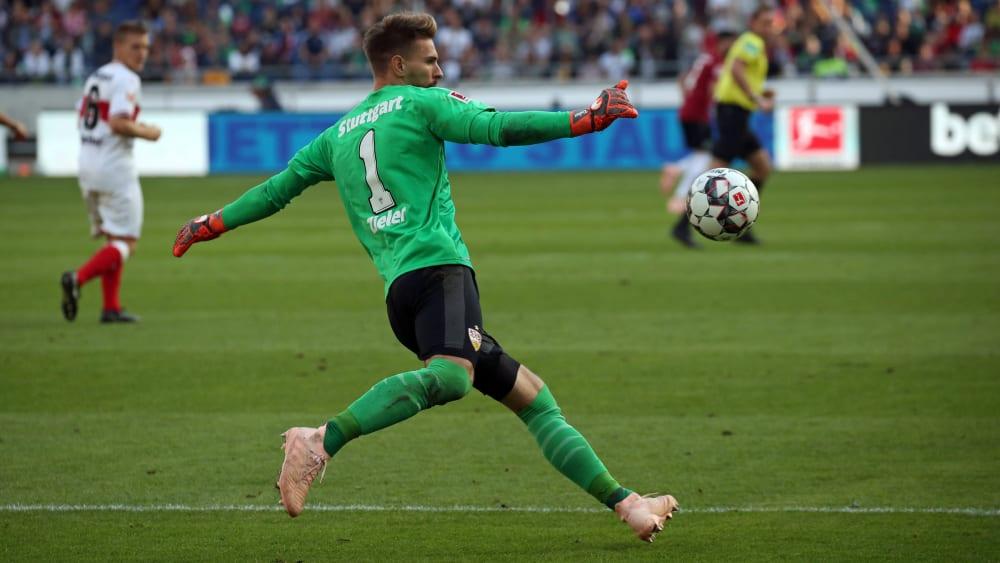 Er kehrt mit Hannover am ersten Spieltag an seine alte Wirkungsstätte zurück: Keeper Ron-Robert Zieler.