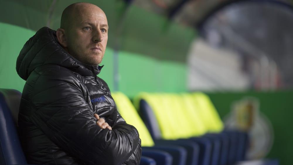 Will trotz Personalproblemen die Tabellenspitze erobern: Duisburgs Trainer Torsten Lieberknecht.