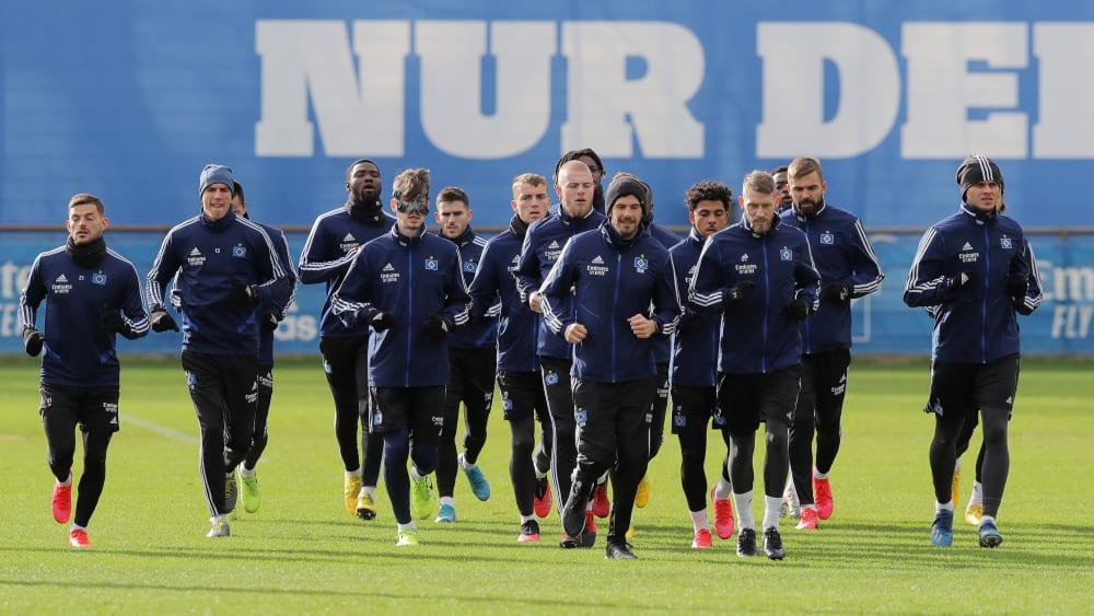 Hamburger SV setzt Mannschaftstraining aus