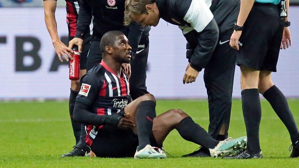 Sehnenverletzung: Frankfurt länger ohne Toure - Eintracht muss auf den Abwehrmann verzichten