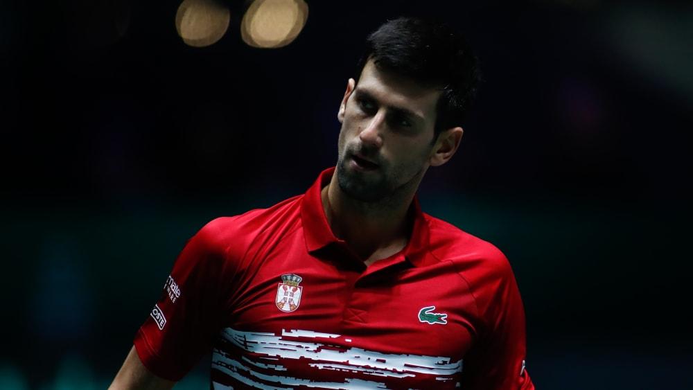 Novak Djokovic ist beim Davis-Cup-Finalturnier in Madrid im Viertelfinale gescheitert.
