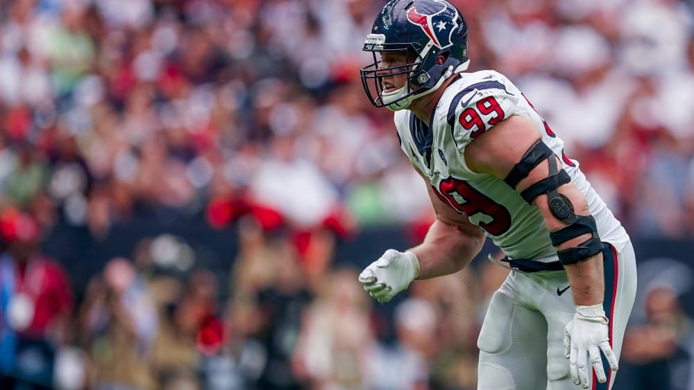 J.J. Watt ist Star der Houston Texans.