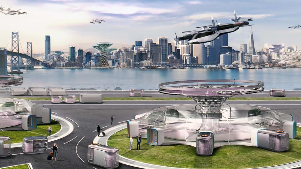Hyundai Lufttaxi-Konzept