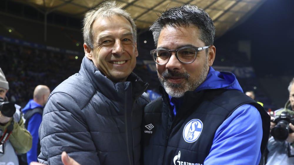 Jürgen Klinsmann und David Wagner