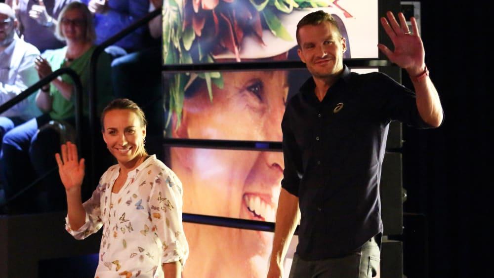 Anne Haug und Jan Frodeno