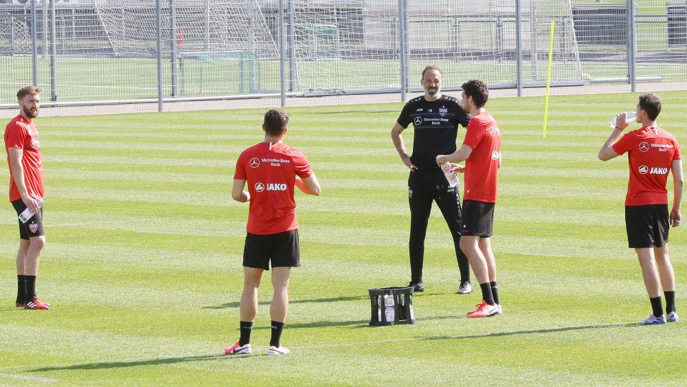 """VfB zurück auf dem Platz - """"Man sieht wieder strahlende Gesichter"""""""
