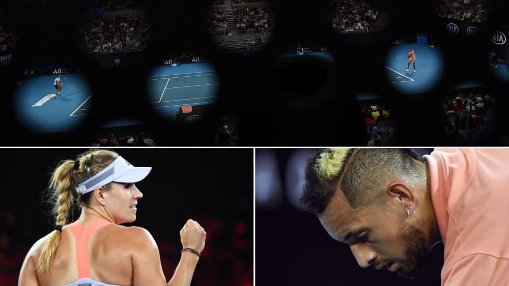 Eindrücke von den Australian Open 2020 - Tag 2