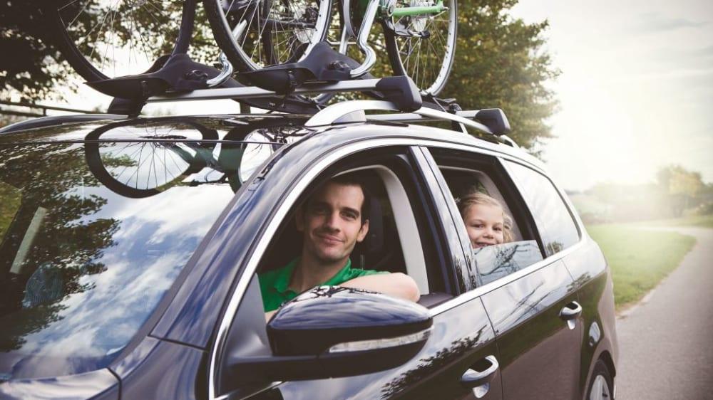 Fahrrad-Transport mit dem Auto