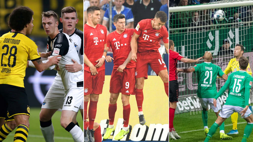 Standard-Gegentore - das Bundesliga-Ranking