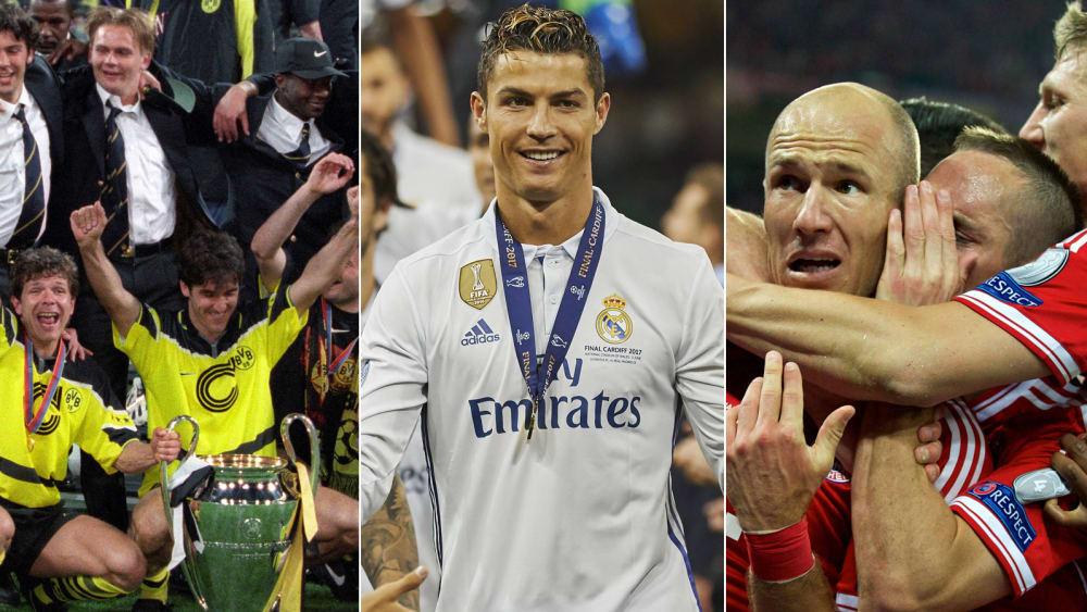Die Ewige Champions League Tabelle Wo Bayern Bvb Co