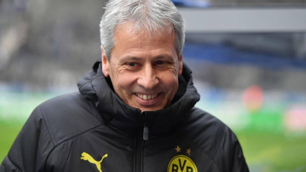 Auf der Suche nach einem Allrounder: BVB-Coach Lucien Favre.