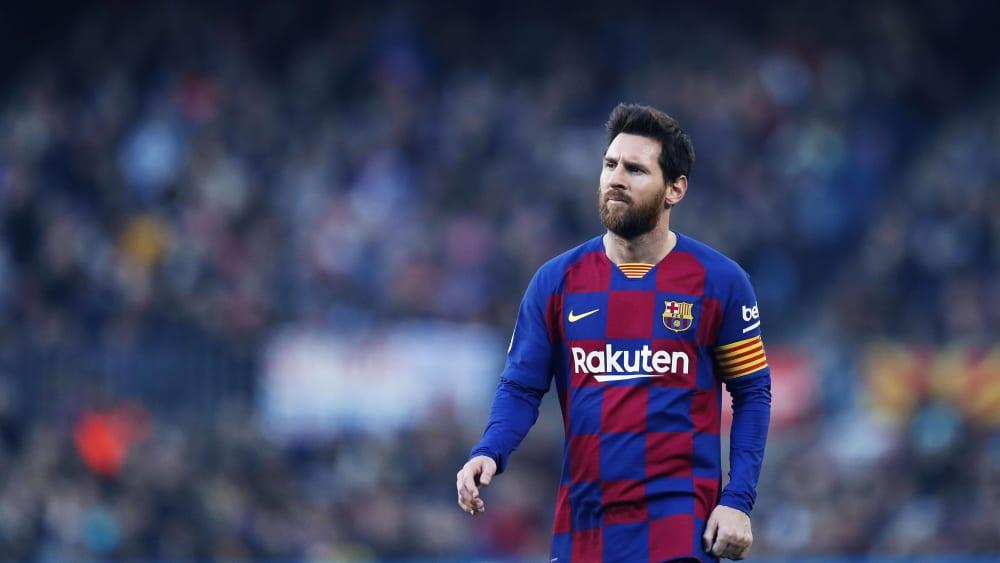 Lionel Messi ist Spieler des FC Barcelona.