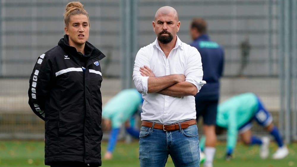 Sascha Glass und Mirella Junker