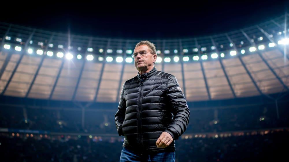 Ralf Rangnick in Berlin - davon träumte Jürgen Klinsmann im November 2019.