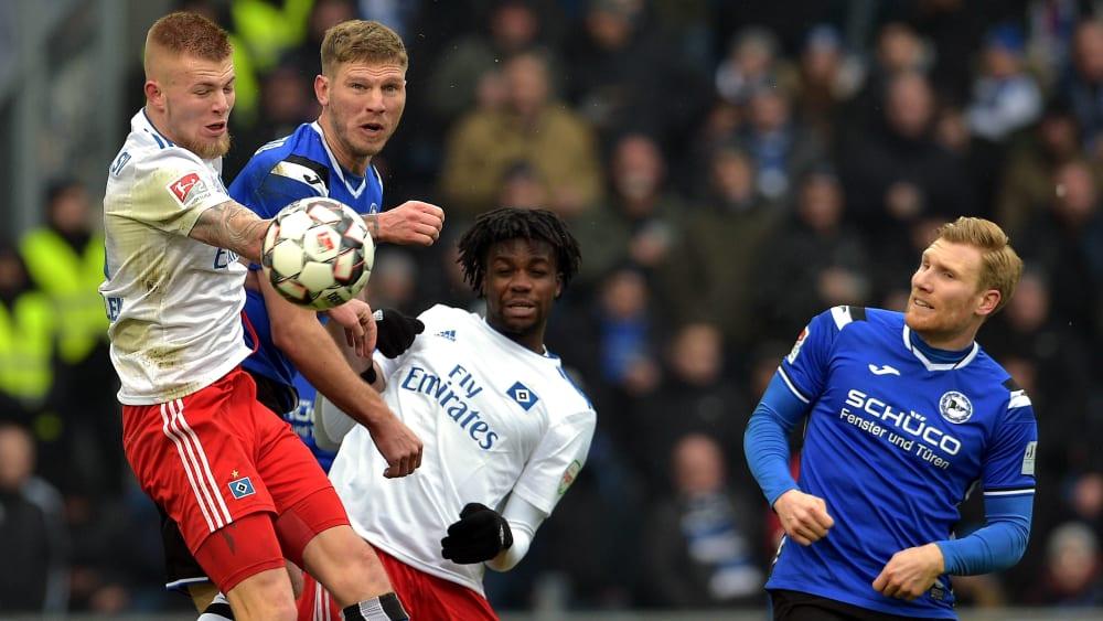 Topspiel auf der Alm: Bielefeld empfängt den HSV - Überblick: Hannover und Bochum peilen ersten Heimsieg an