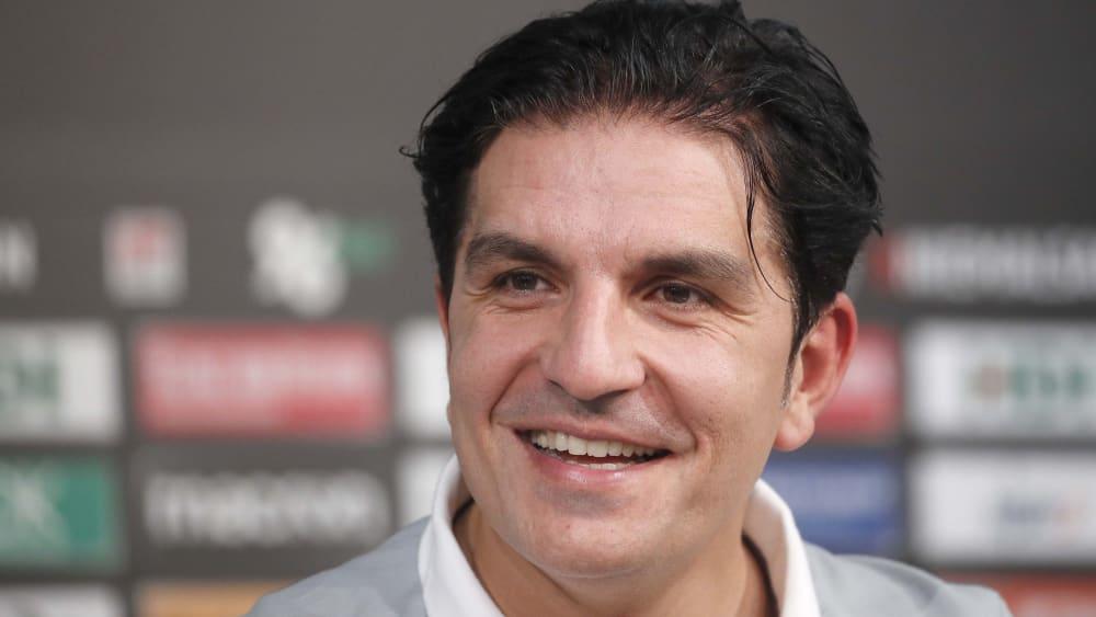 Hannovers Trainer Kenan Kocak ist zuversichtlich vor der Partie in Bochum.