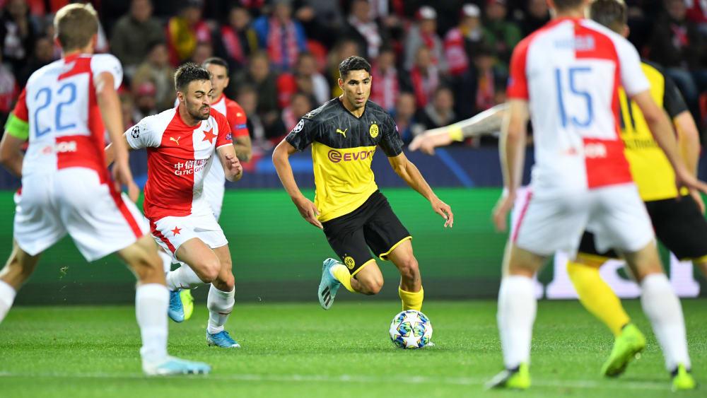 Sololauf ins Glück: Achraf Hakimi besorgte das 1:0.