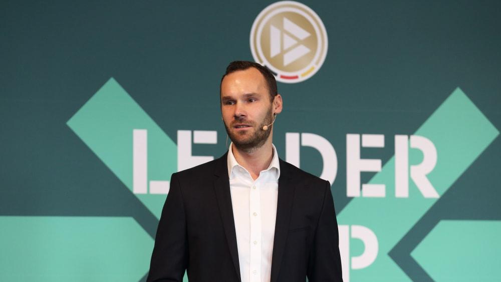 Tobias Haupt, der Leiter der neuen DFB-Akademie,
