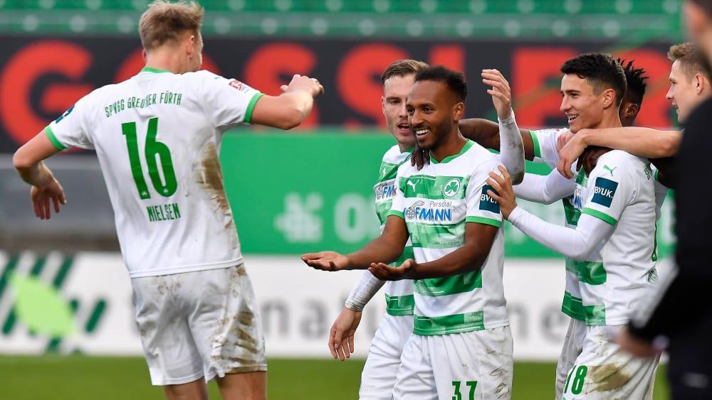 """Fürth spielt """"den besten Fußball in der 2. Liga"""""""