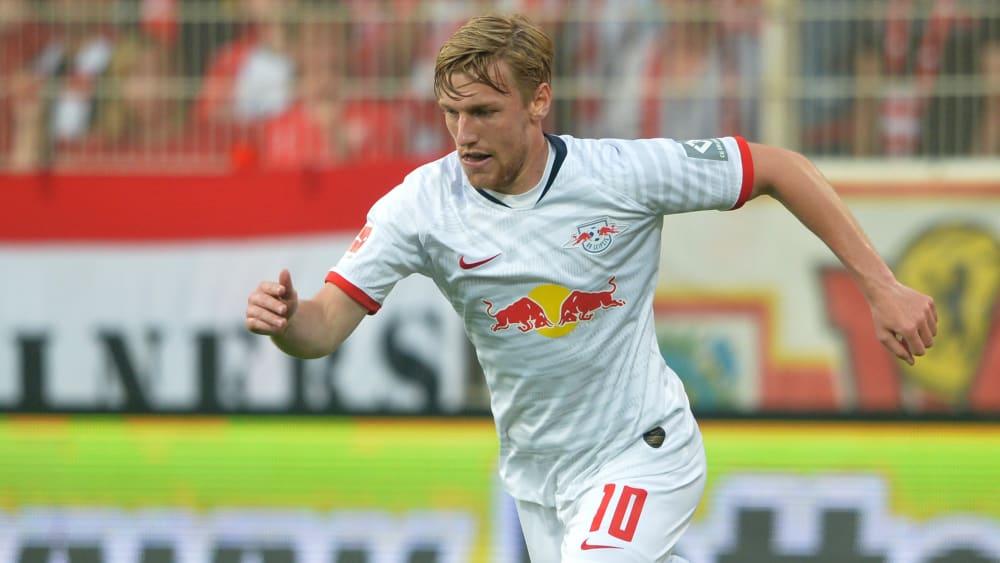 Könnte gegen Frankfurt zum Startelfdebüt in dieser Saison kommen: Leipzigs Offensivspieler Emil Forsberg.