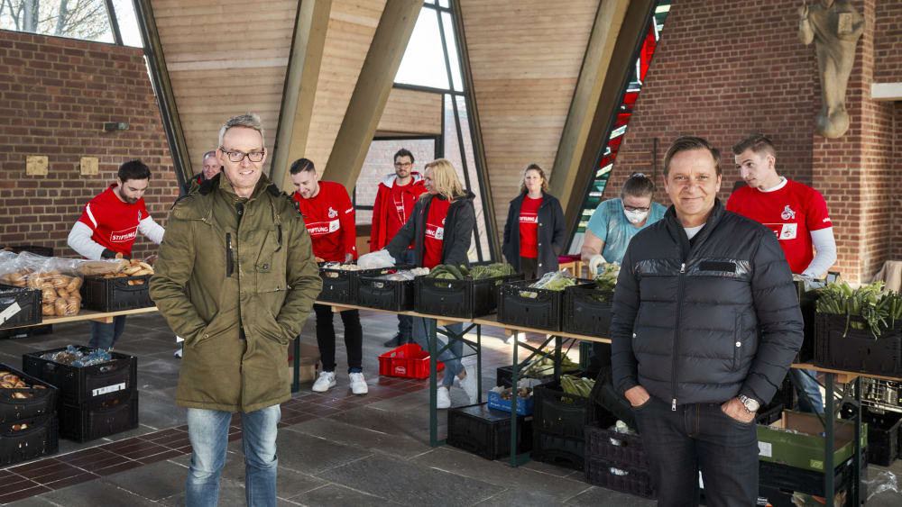 Alexander Wehrle und Horst Heldt sind Geschäftsführer beim 1. FC Köln.