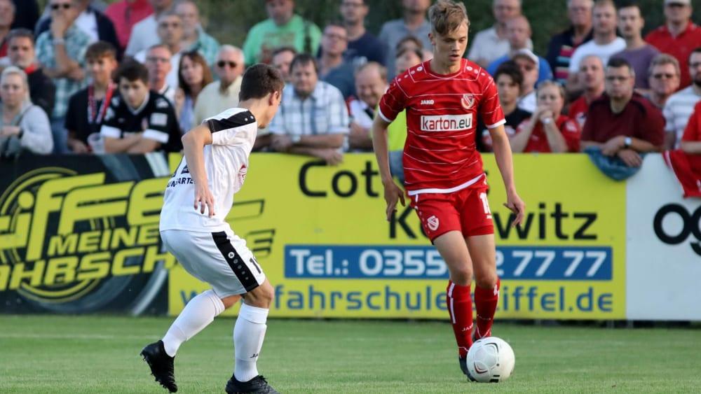 Sieht seine Zukunft in Cottbus: Niklas Geisler.