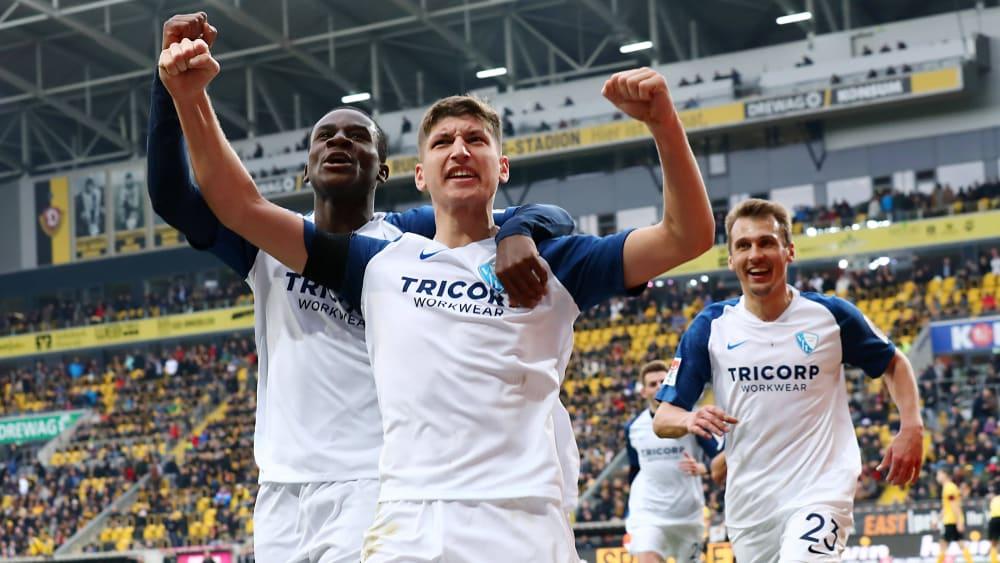 Bochum besiegt Dynamo Dresden