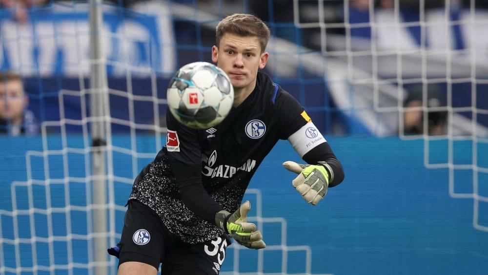 Perspektivisch einer für die A-Nationalmannschaft? Schalke-Schlussmann Alexander Nübel.