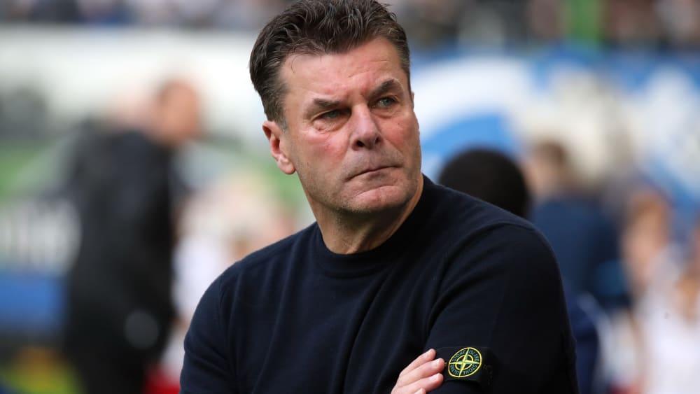 Hamburgs Trainer Dieter Hecking
