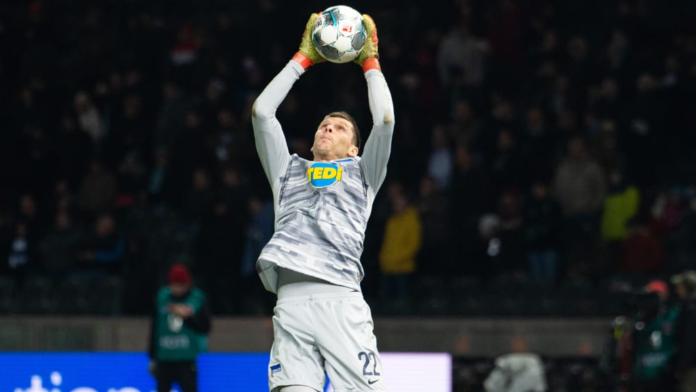 Rune Jarstein ist Torwart bei Hertha BSC.