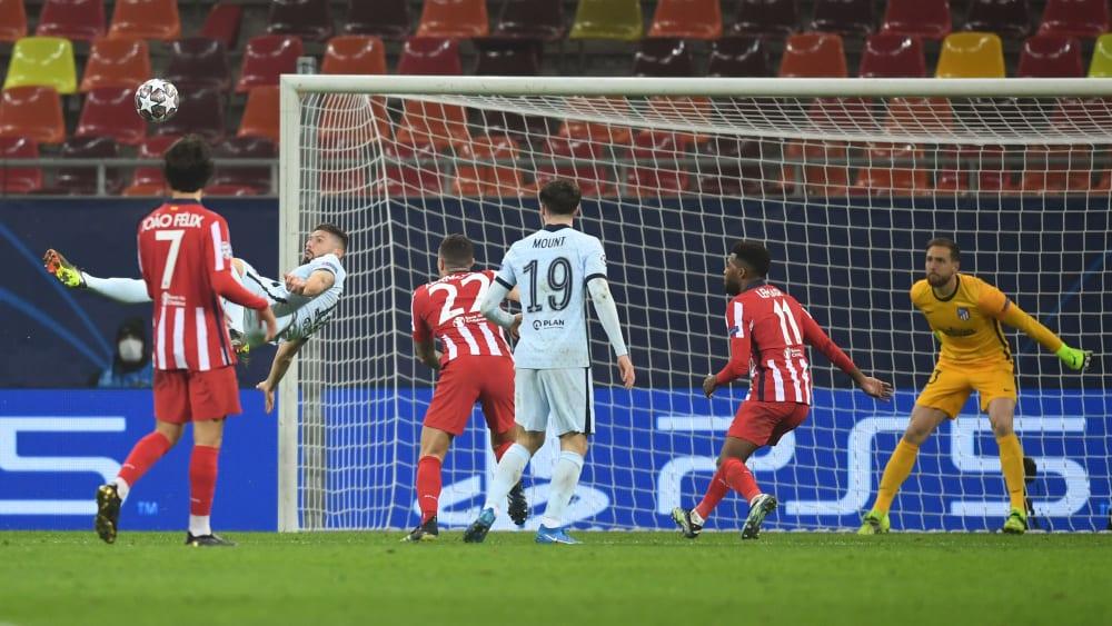 Nach VAR-Check: Giroud verschafft Chelsea gute Ausgangslage - Tuchel muss im Rückspiel auf Mount und Jorginho verzichten