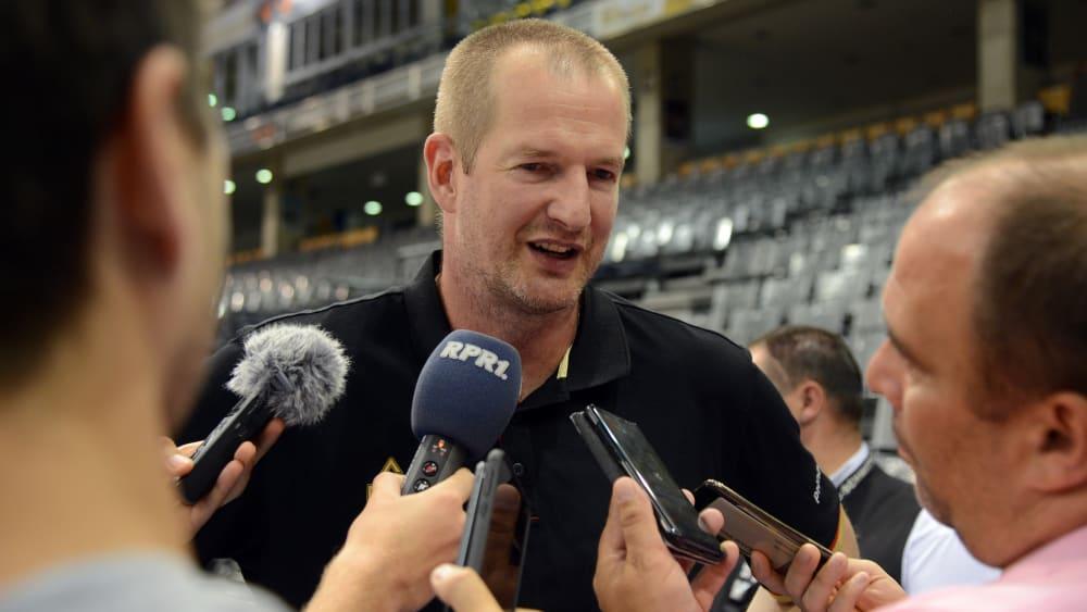 Trainer des DBB-Teams: Henrik Rödl.