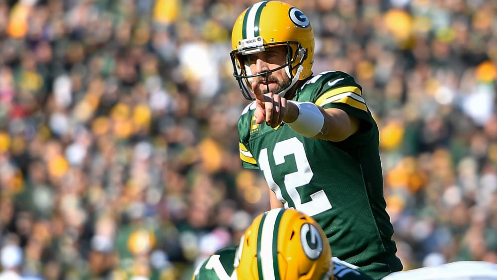 Packers-Quarterback Aaron Rodgers