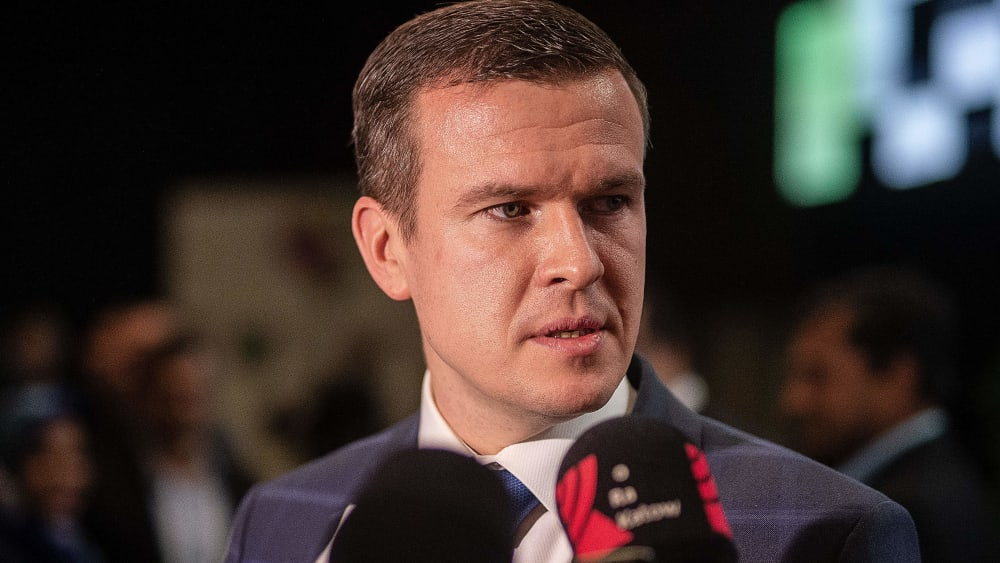 Steht ab sofort noch mehr im Mittelpunkt: Der neue WADA-Chef Witold Banka.