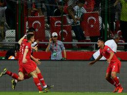 Triumph der Türkei: 2:0 gegen Weltmeister Frankreich