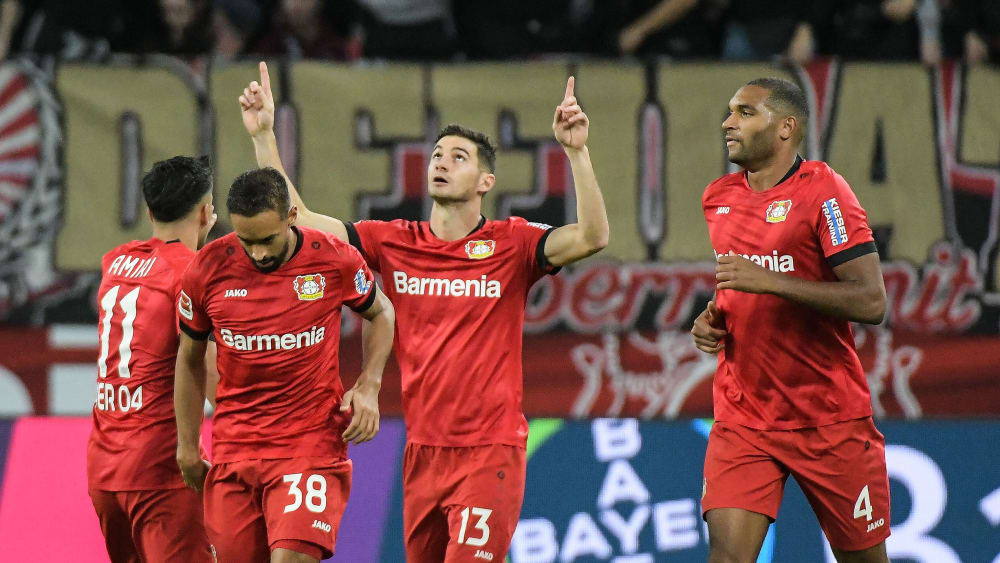 Lucas Alario ist Stürmer bei Bayer 04 Leverkusen.
