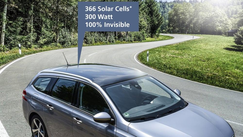 Auto mit Solardach