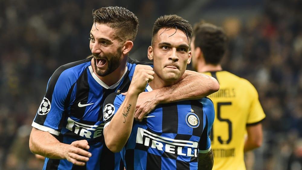 Traf zum 1:0 für Inter: Angreifer Lautaro Martinez.
