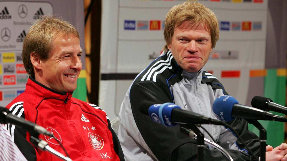 Neu in der Hall of Fame: Jürgen Klinsmann (li.) und Oliver Kahn.