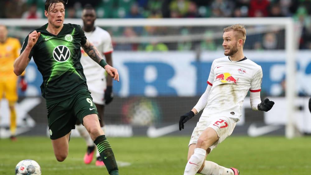 Generalprobe: Wolfsburg testet bei RB Leipzig