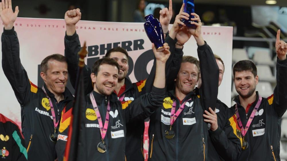 Der EM-Titel im Tischtennis ging erneut an Deutschland: