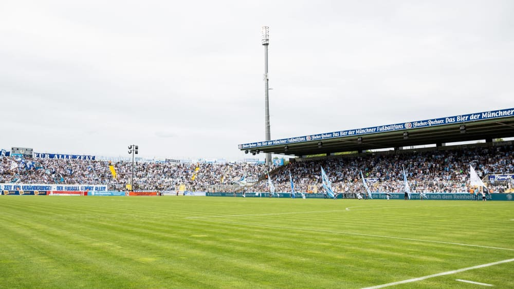 Im Grünwalder Stadion steigt am 16. Spieltag das Münchner Stadtduell.
