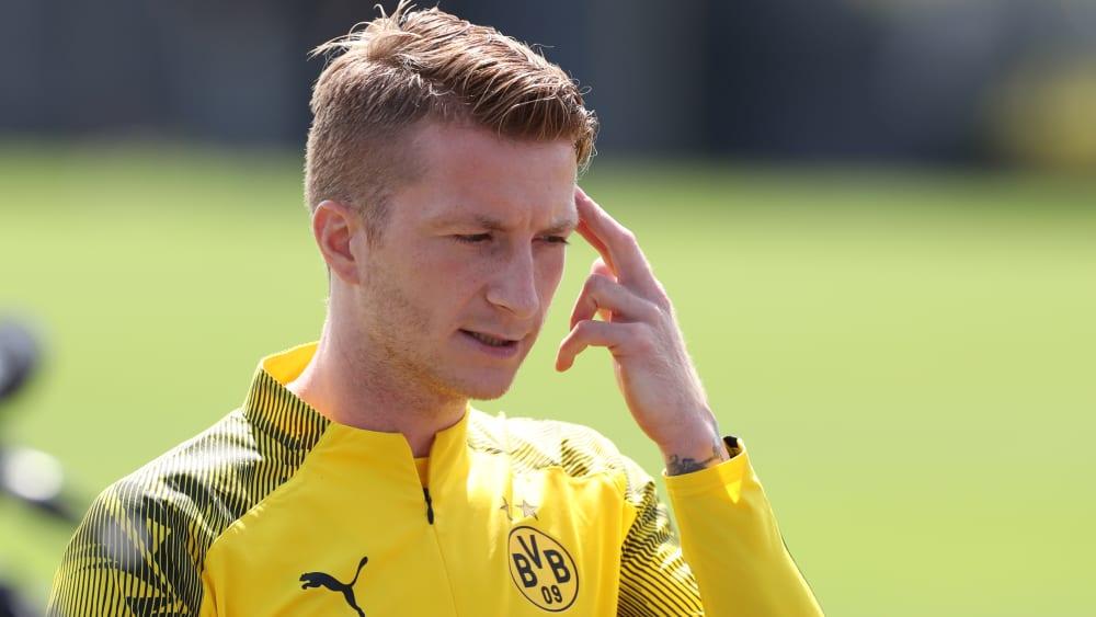 Dortmunds Kapitän Marco Reus