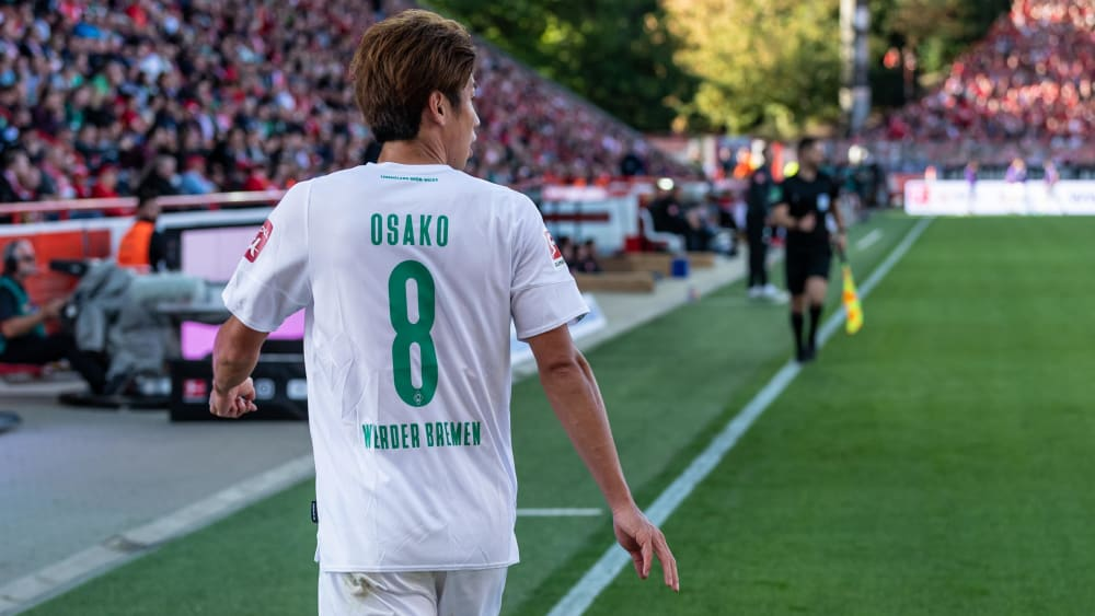 Bremens Offensivspieler Yuya Osako